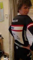 PBK Team Long Sleeve Skinsuit 2013