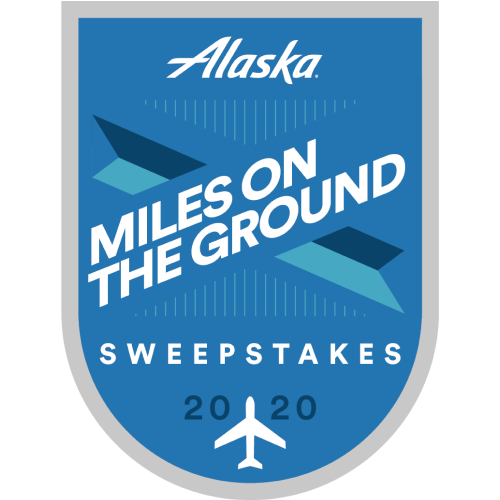 Alaska Airlines Miles on the Ground