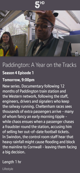 Paddington Station 24/7 - 14/05/2020 BT TV app