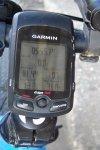Garmin Edge 705 - showing 81.44 miles