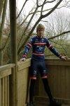 Winter lycra cycling gear