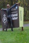 Wetsuit cycling at Rutland Water