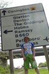 Cycling on B1043