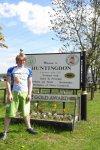 Huntingdon sign