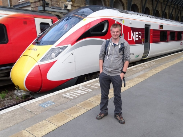 LNER Azuma at London King's Cross railway station