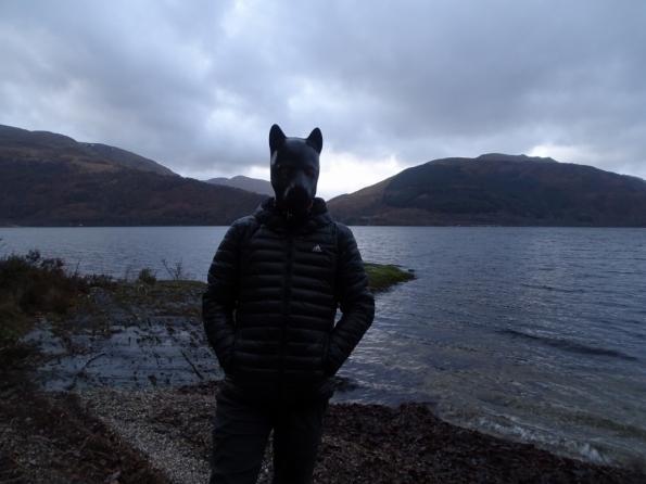 Pup play at Loch Lomond